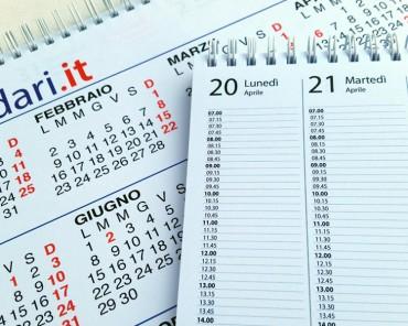 calendario 2015 agenda con ore per appuntamenti ufficio