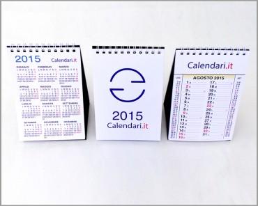 Calendario 2015 da scrivania