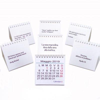 calendario 2019 mini serie completa