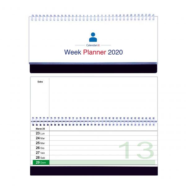 calendario 2020 famiglia tavolo 1 colonna