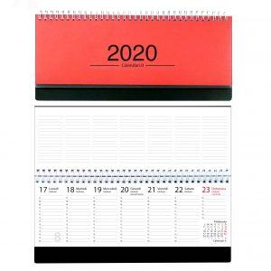 Calendario Con I Santi 2020.Calendario 2020 Olandese Da Muro Mensile Con Santi Lune E