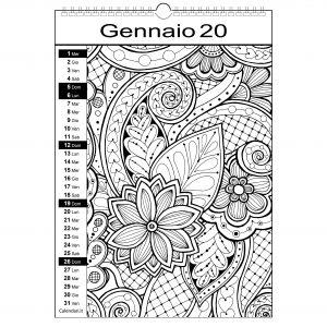 Calendario 2020 Da Colorare Per Bambini.Calendario Per Bambini Archives Calendari It Calendari