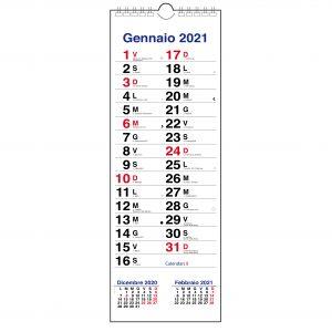 calendario 2021 olandese stretto da muro slim 3 mesi appunti santi lune