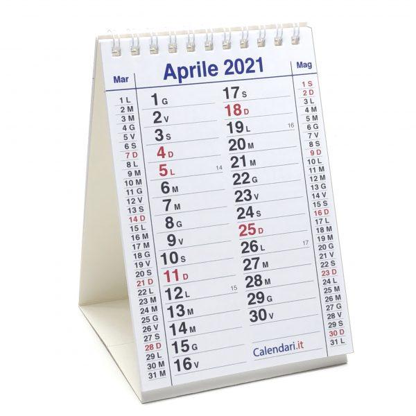calendario 2021 olandese tavolo scrivania 12 mesi appunti