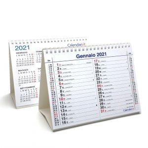 calendario 2021 tavolo olandese santi lune 3 mesi scrivania ufficio appunti