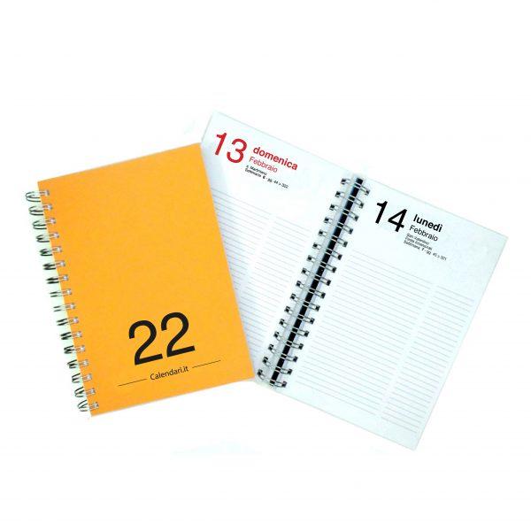 agenda-giornaliera 2022-arancio-scuro