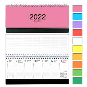 agenda 2022 settimanale da tavolo scrivania ufficio colorata italiano spirale