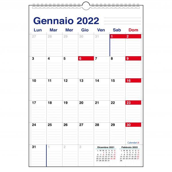 calendario 2022 a caselle da muro 12 mesi appunti casa lavoro