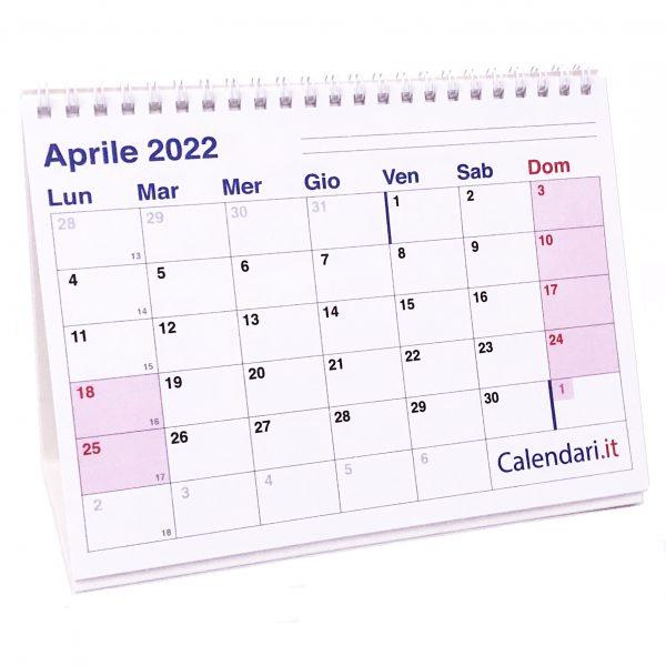 calendario 2022 tavolo scrivania caselle appunti ufficio lavoro