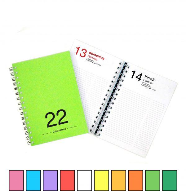 tutto agenda giornaliera 2022 365 giorni tutti i colori
