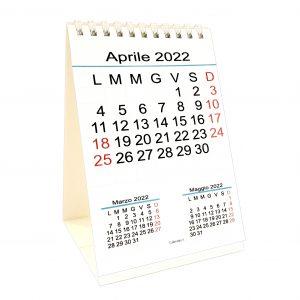 calendario 2022 da tavolo numeri grandi